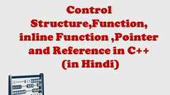 Control Structure, Reference, Pointer and Function in C++ (NTA UGC