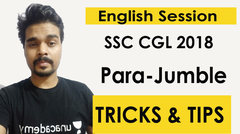 (Hindi) Tips and Tricks to Solve Para Jumble for Ssc Cgl