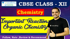 (Hindi) Most Important Named Reactions for Chemistry Class XII