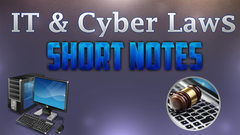 short notes on cyber laws