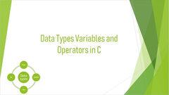 Hindi) Data Types and Operators in C - Unacademy
