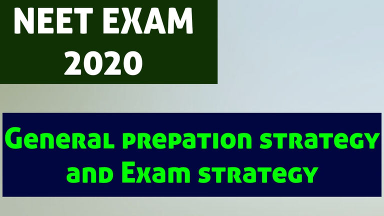 (Hindi) A-Z General Preparation Strategy for NEET UG